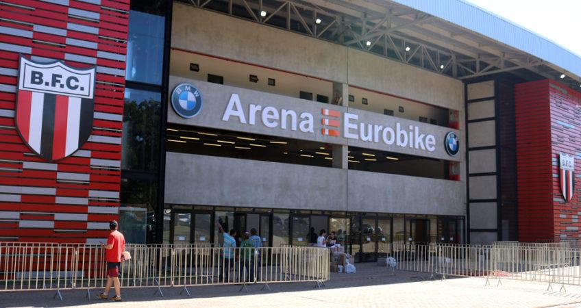 Arena Eurobike é um dos motivos de discussão na diretoria do Botafogo